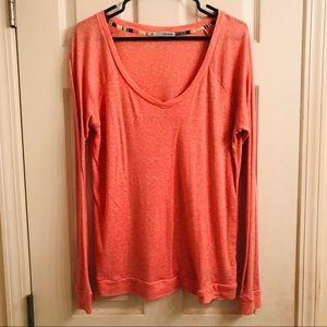 Maurices Coral Long Sleeve Sweater EUC
